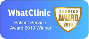 WhatClinic Patient Service Award