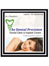 Dr. Chandra's -THE DENTAL PRECISION- Dental Clinic - image1