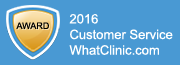 WhatClinic.com Customer Service Award Winner 2013
