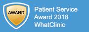 WhatClinic Patient Service Award 2017