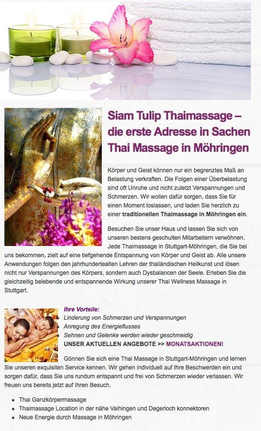massage tumba tulip thai