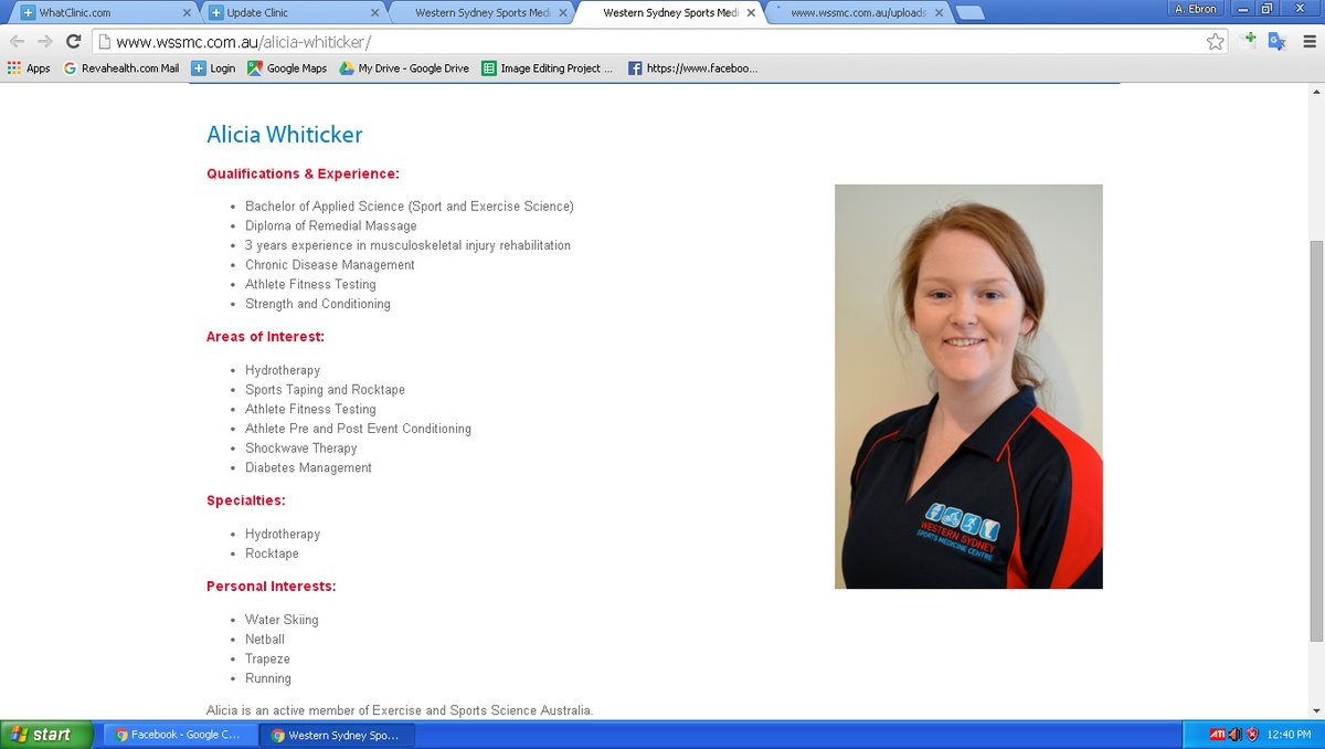sports med physiotherapy sydney - photo#30