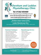 Dereham Physiotherapy Sports Injury Clinic - Private Physiotherapy Clinic in Loddon - WhatClinic.com